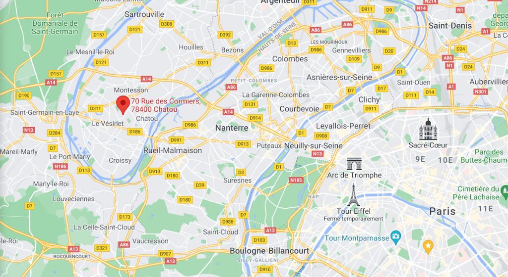 Mappe atelier Chatou Verre Vitrail